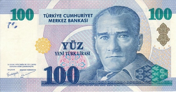 Try турецкая лира